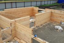 Кедр 190х190 и внутренние стены из сосны 140х190 (НСО)