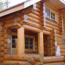 Дом из рубленного бревна «Русская рубка»