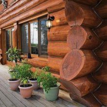 Дом ручной рубки «Канадская рубка»