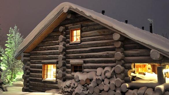 самые теплые стены из натурального дерева
