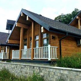 Дом из кедра в Ольгинке, Туапсинский район